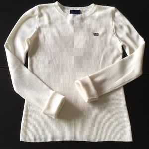 Cream sweater by Polo Jeans Ralph Lauren